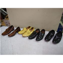 Lot Of Vintage Leather Shoes