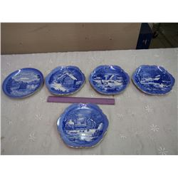 Vintage Collector Plates (5)
