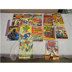 Lot Of Vintage Comic Books (Superman, And Action Comics) (12) (Mostly 70's