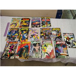 Lot Of Vintage Comic Books (Batman And Robin) (15) (90's and 70's)