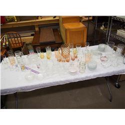Huge Lot Of Glassware