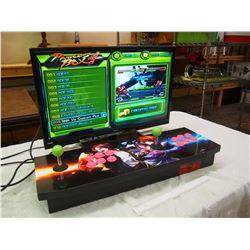 "Pandora's Box All In One Arcade System (645 Arcade Games) W/ RCA HDMI 27"" TV"