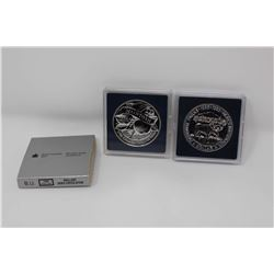 RCM Coins (2):1885-1985 National Parks Silver Dollar&A 1796-1996 McIntosh Silver Dollar