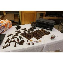 Huge Lot Of Painted Assembled Warhammer Figures, Skaven, Includes Case and Manuals