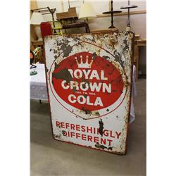 "Royal Crown Cola Sign, 1961, 35""x48"""