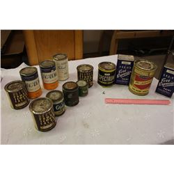 Lot Of Vintage Paint Cans