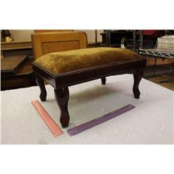 Vintage Wooden Footstool, 1993 Bombay Company