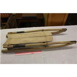 Vintage Wooden Sleigh
