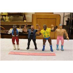 Lot Of Vintage Wrestling Figures, 80's