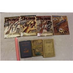 Lot Of Gun Magazines With Vintage Books