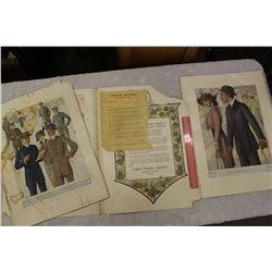 1914 Fashion Sample Kit