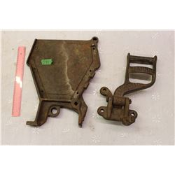Cast Iron Binder Foot Pedal W/ Drill End