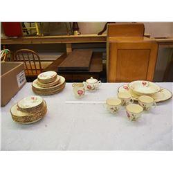 Set of Vintage Dishware