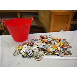 Over 200 Pins From Old Timers Hockey Teams Across Canada