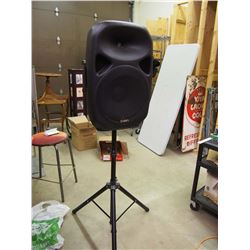 Ion Powered Speaker With Stand