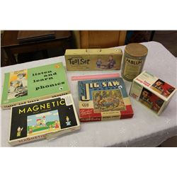 Lot of Vintage Games & Toys