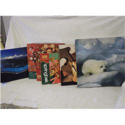 Springbok Puzzles (6) 500 Pc. Puzzles
