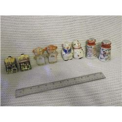 1930-40's Salt And Peppers, 4 Pairs