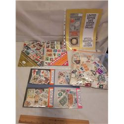4 Batches of Stamps W/ Oilers Dollar