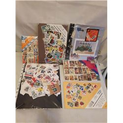6 Batches Of Stamps