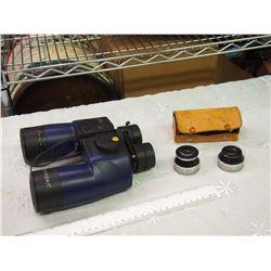 Barska Binoculars, Sun Opt Wide Angle And Telephoto Lens