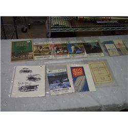 Lot Of Vintage Print Related (Good Year, Royal Purple)