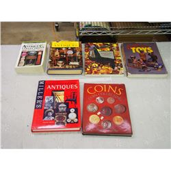 Lot Of Antiques And Collectible Books
