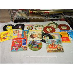 Lot Of Vintage 45 Records