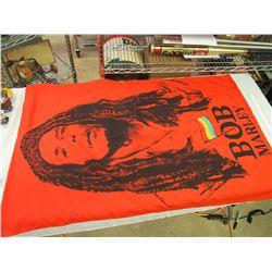 Large Bob Marley Flag