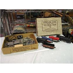Louis Marx Steam Line Electric Train