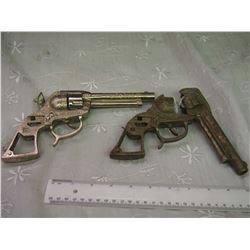 Pair Of Roy Rodgers Cap Guns, Not Complete