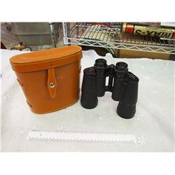 Fisher-Dietz 10x50 Binoculars With Leather Case