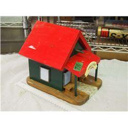 Fancy Wooden Bird House