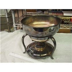 Large Silver Plated Chaffing Bowls
