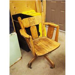 Unique Antique Dog Elevator Chair, Refinished