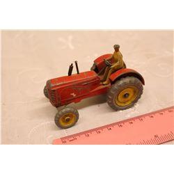 Dinky Toy Massey Harris 44 Tractor w/Man
