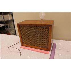 Vintage Plug In Speaker
