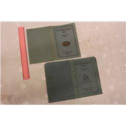 1927& 1929 Oldsmobile Instruction Manuals