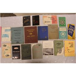 Assorted 1950s European Automotive Instruction Manuals