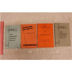 1950s Willy's Jeep Owners Manuals