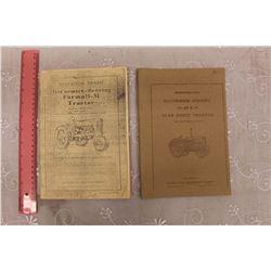 McCormick Deering Model 10-20 & Farmall-M Tractor Owners Manuals