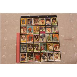 Lot of 30 Vintage Hockey Cards