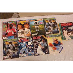Lot of Baseball Related Programs, Magazines