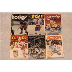 Lot of Hockey Related Programs, Magazines