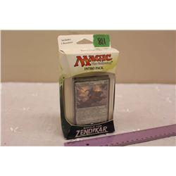 Sealed box of Magic, The Gathering Cards: Battle For Zendikar