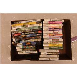 Lot of Video Games: Wii, PS2, Nintendo DS & Nintendo Gamecube