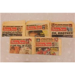 1987 The Hockey News Newspapers (5)