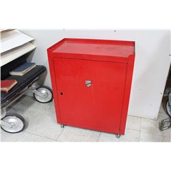 """Rolling Shop Cabinet by Beach (26.5""""x 21.5""""x 12"""")"""