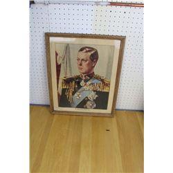 King Edward VIII Framed 1931 Print
