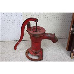 Antique Monach Machinery Cast Iron Cistern Pump